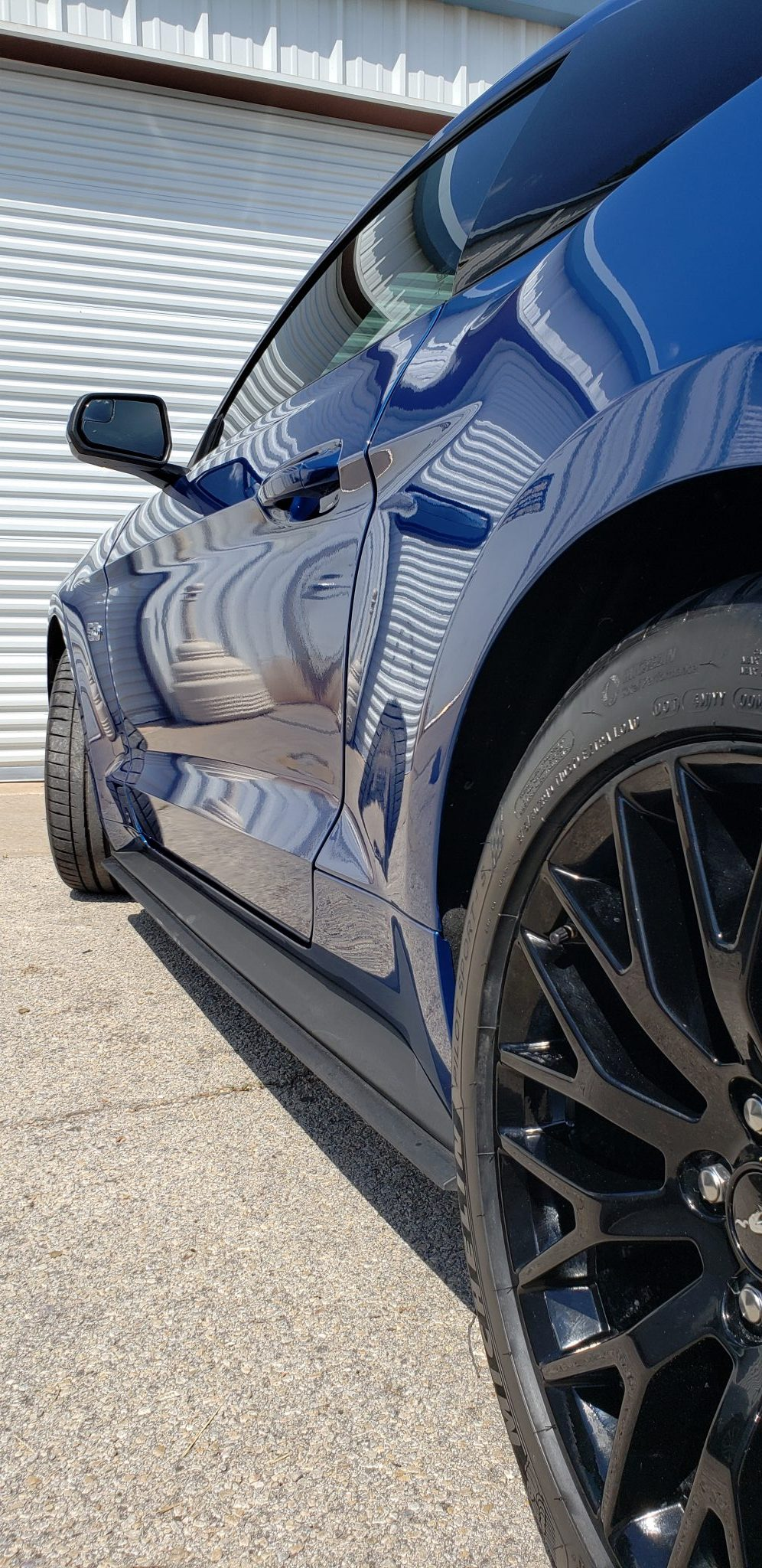 Ford Mustang with Wax Sealant